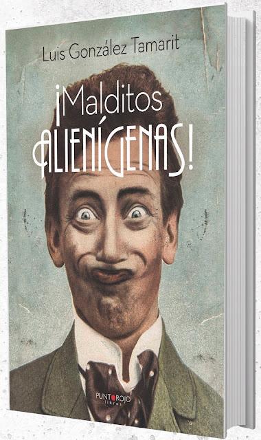 LUIS GONZÁLEZ TAMARIT presenta ¡MALDITOS ALIENÍGENAS! en Almería