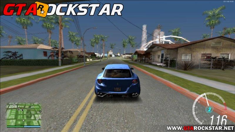 GTA SA - Mod Forza Horizon 3 Speedometer