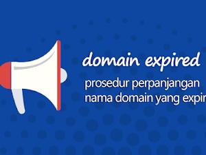 Perpanjangan Domain Hingga September 2020