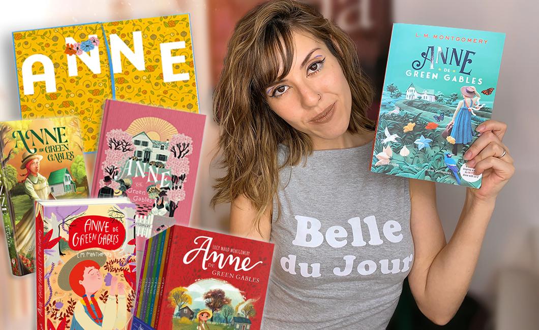 Série Anne (de Green Gables): todos os livros e todas as edições