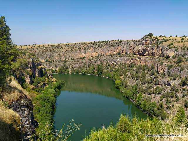 visitar las Hoces del Duratón en Segovia