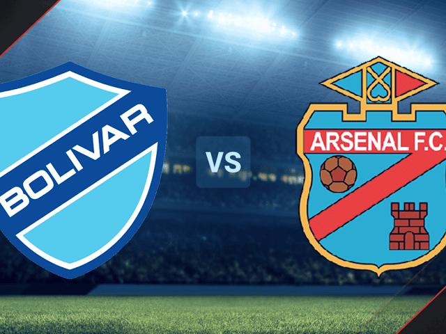 Bolívar vs. Arsenal EN VIVO: ONLINE por Copa Sudamericana
