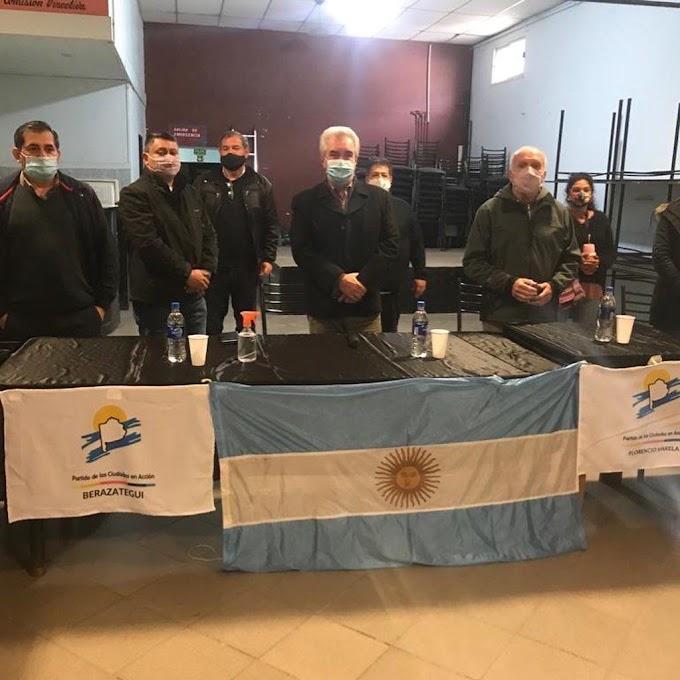 El Partido de las Ciudades en Acción de Jorge Giorno es la cabecera de playa de Larreta en la provincia Buenos Aires