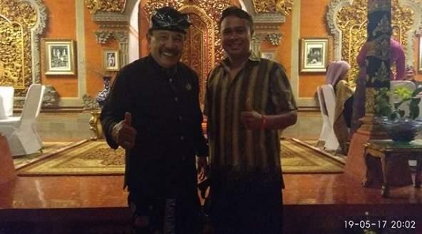 Istana Ubud Puri Saren Agung Bersama Tjok Putra Sukawati