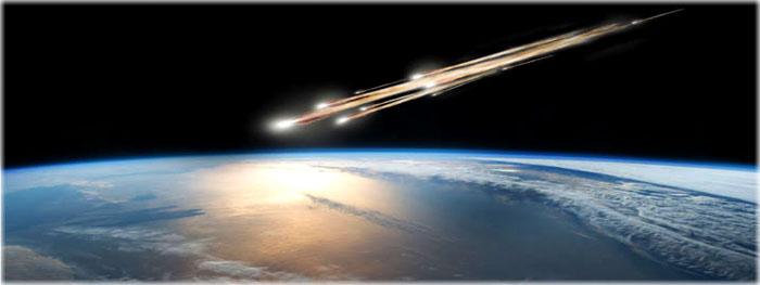 chuva de meteoros artificial - ALE