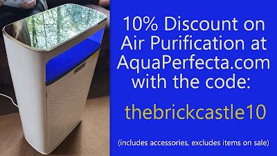 10% discount code Aqua Perfecta Air Purifiers