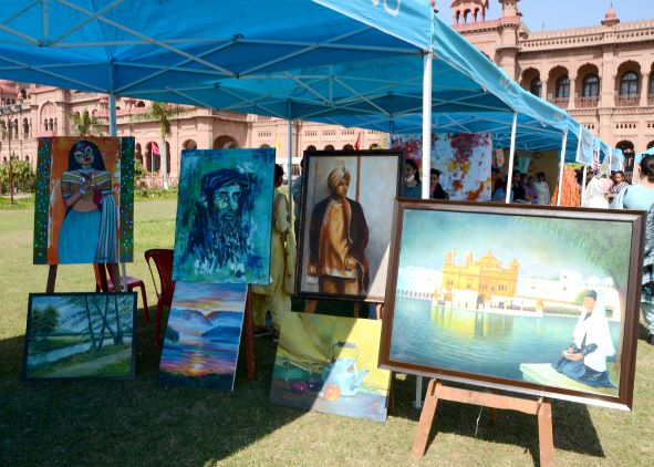 fine arts exhibition paintings
