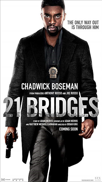 Sinopsis Film 21 Bridges (2019) - Chadwick Boseman, J.K. Simmons