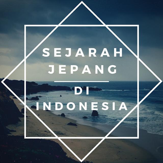sejarah jepang dan indonesia