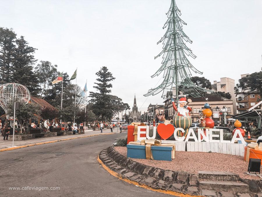 atrações Sonho de Natal Canela