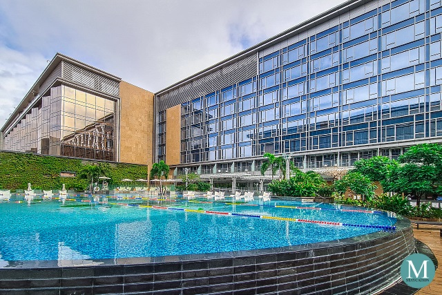 Vega Outdoor Swimming Pool at Hilton Manila