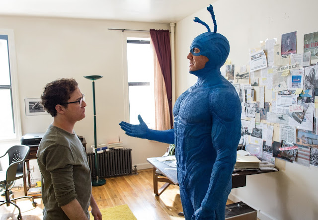 The Tick Peter Serafinowicz as The Tick Griffin Newman as Arthur Everest
