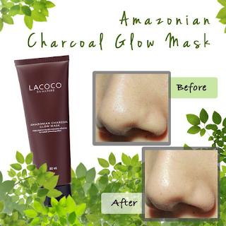 Testimoni Lacoco Amazonian Charcoal Glow Mask Nasa
