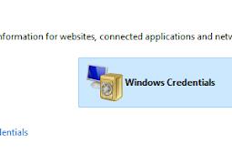 Cara Menghapus User Login Windows Credentials Jaringan Yang Tersimpan Di Windows 10