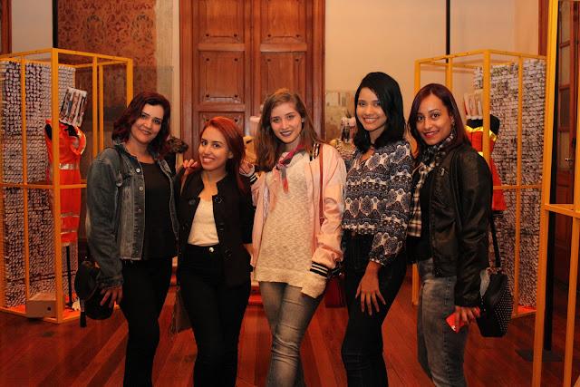 Andréia Camargos, Nayara Carneiro, Aninha Carvalho, Naiara Santos e Deborah Cardoso