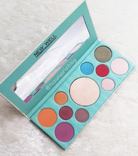 New Well Derma Highlighter & Eyeshadow Palette 10