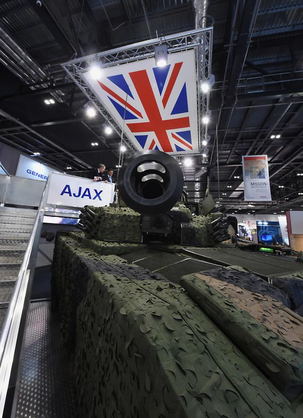Asian Defence News: General Dynamics unveiled new AJAX