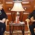 नॉर्वे की प्रधानमंत्री ने राष्ट्रपति श्री रामनाथ कोविंद से भेंट की