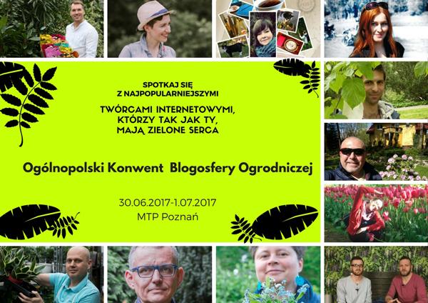 Blogerzy Konwent Blogosfery Ogrodniczej