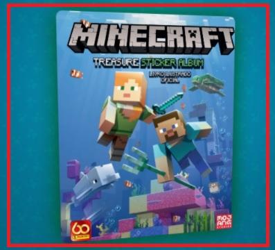 Álbum Grátis 2021 Minecraft Panini