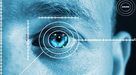 Curiosidades sobre os Olhos - Reconhecimento de Iris