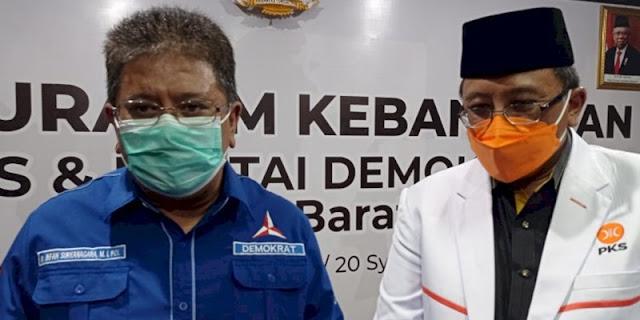 Dimulai dari Jabar, PKS dan Demokrat Komitmen Berkoalisi untuk 2024
