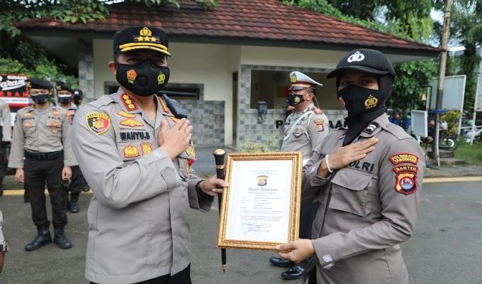 Berprestasi, 44 Personel Polresta Tangerang Dapat Penghargaan