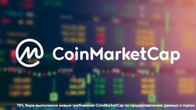 70% бирж выполнили новые требования CoinMarketCap по предоставлению данных о торгах