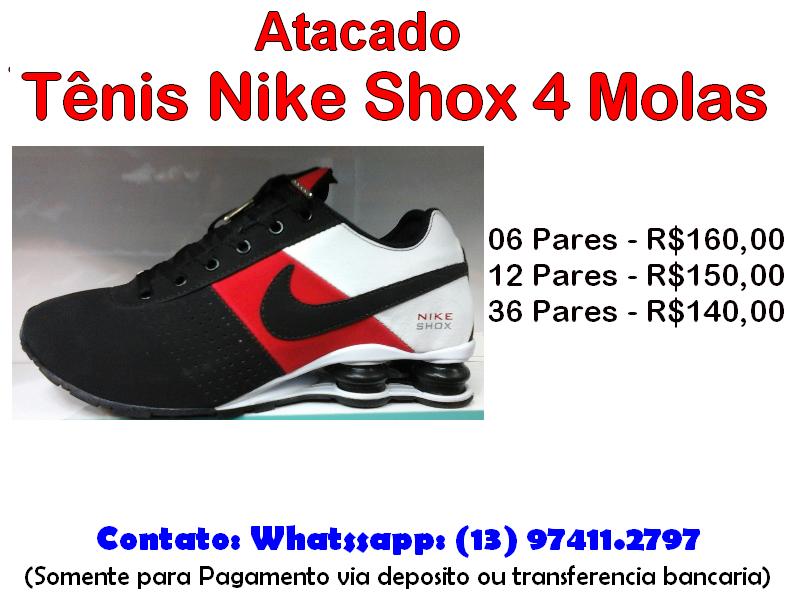 0f49f69e0b5 EPAG IMPORTS  Atacado Tênis Nike Shox 4 Molas