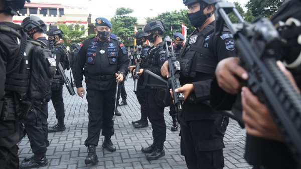 Ikuti Arahan Kapolri, Brimob Gelar Apel Pasukan Pengamanan Kamtibmas Terkini