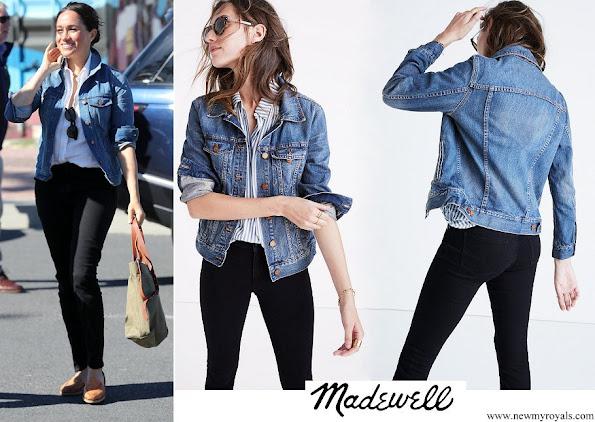 Meghan Markle wore Madewell Jean Jacket