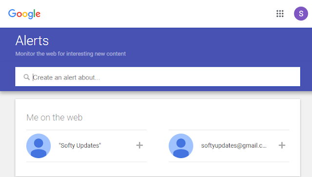 Get Your Online Life Updates with Google Alerts