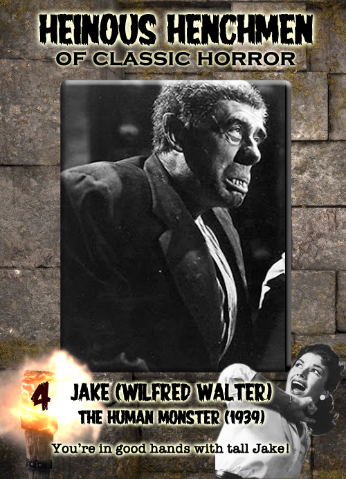 Wilfred Walter as Jake in The Human Monster, 1939