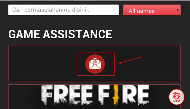 Cara Menghubungi Customer Service Garena Free Fire