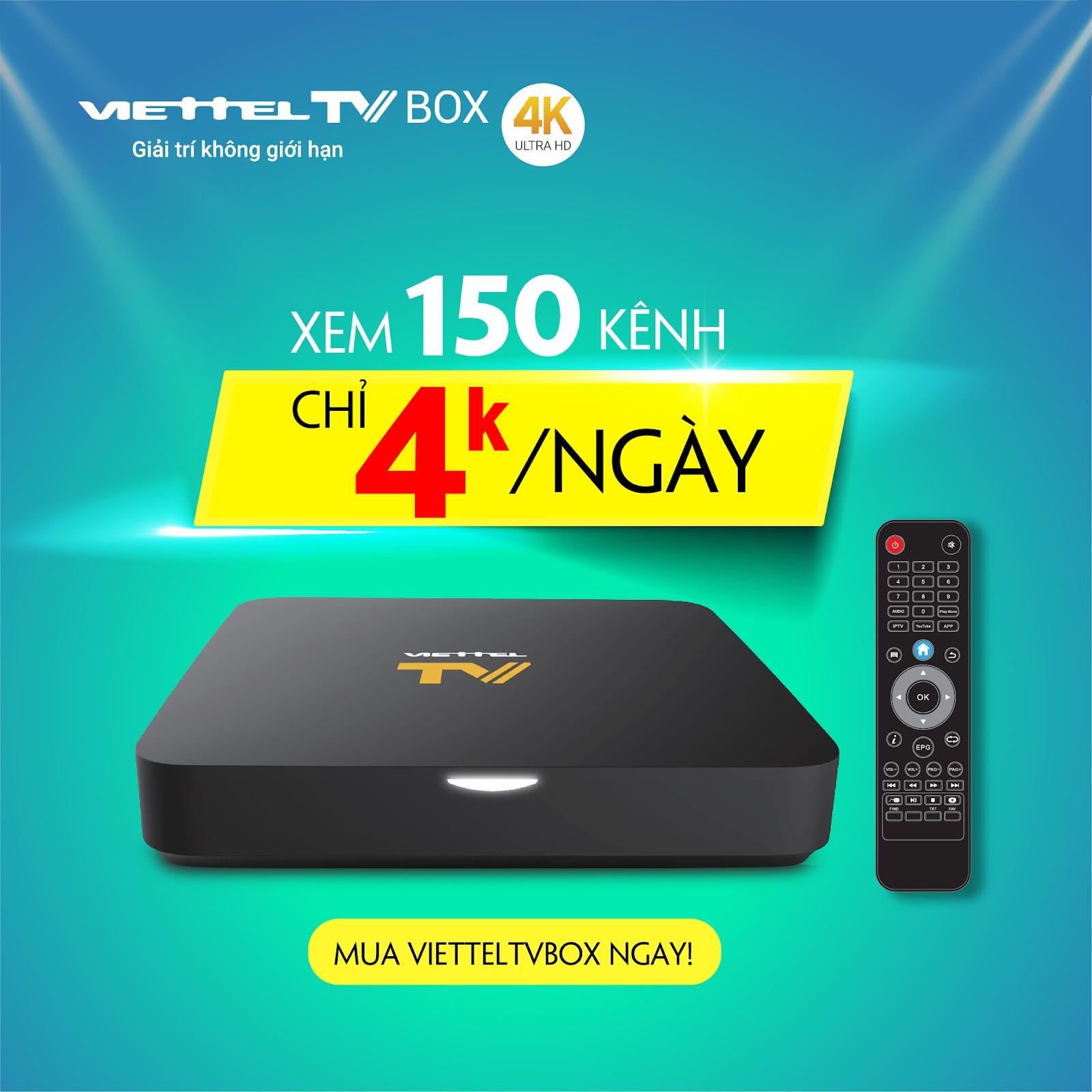 ViettelTV - Truyền hình tương tác
