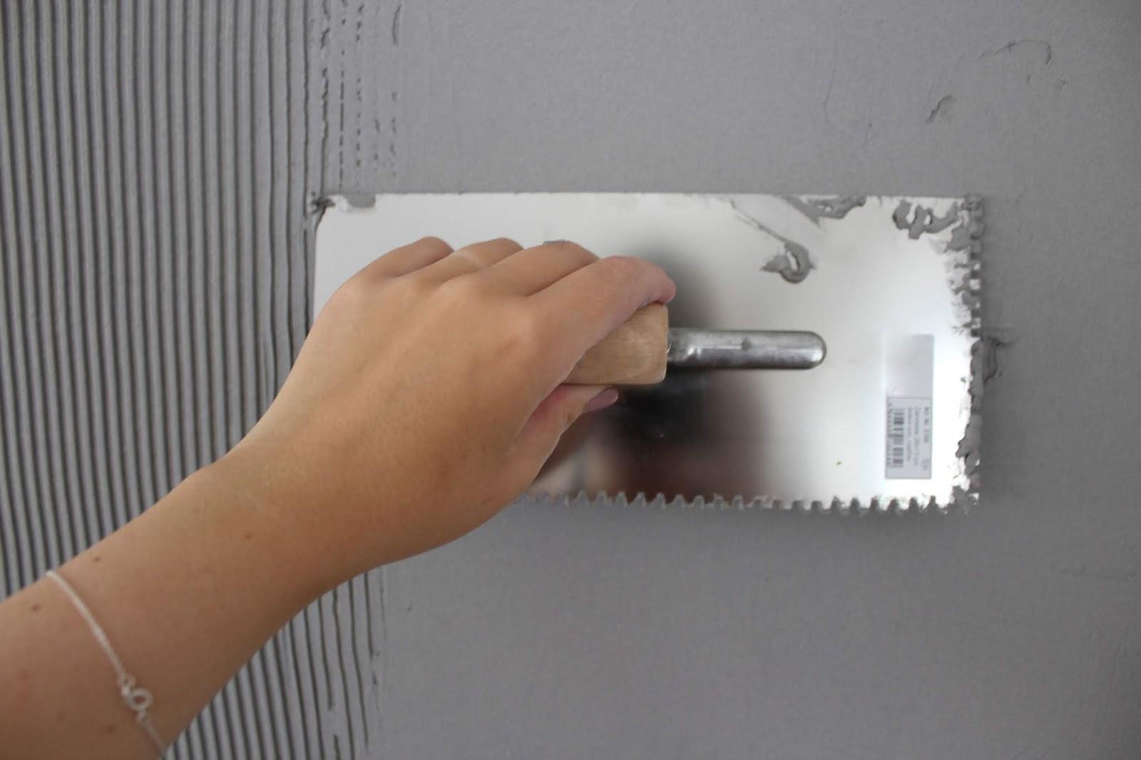 DIY - Wandgestaltung in Beton-Optik? Kein Problem mit dieser Anleitung klappt es ganz leicht!