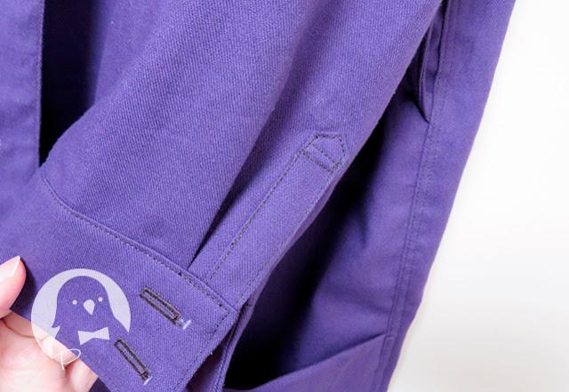 ミセスのスタイルブック2015秋冬号のロングシャツの剣ボロ