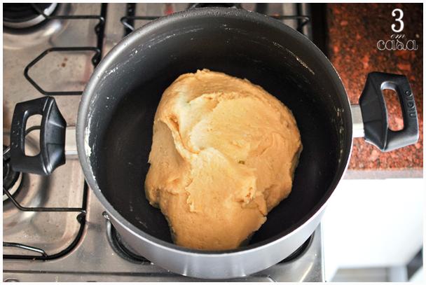 bolinho arroz cremoso massa