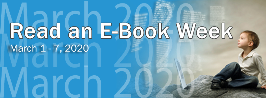 Read an Ebook Week - Banner sized for Facebook