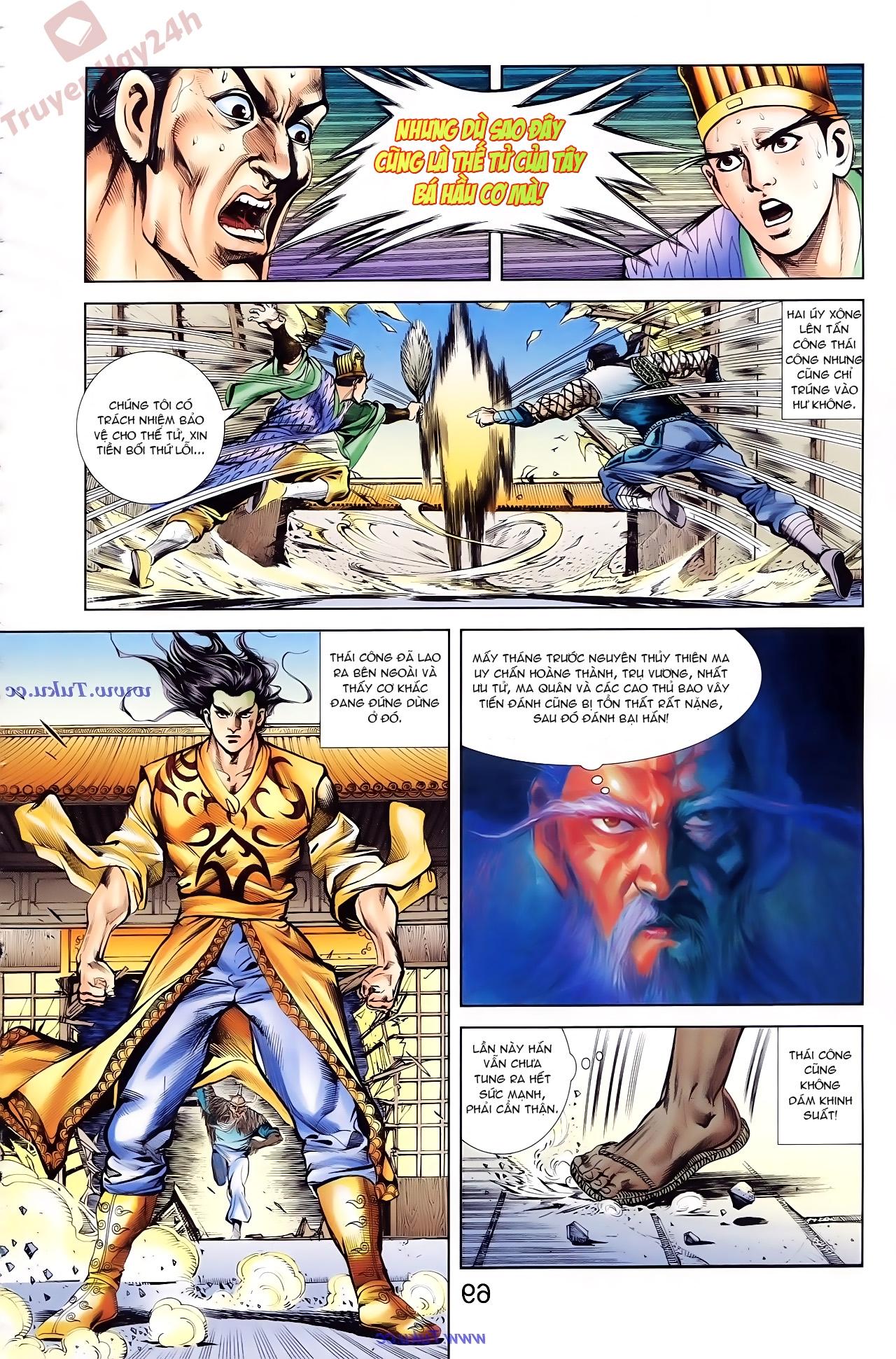 Cơ Phát Khai Chu Bản chapter 77 trang 27