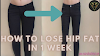 How To Lose Hip Fat | Fitness Article.