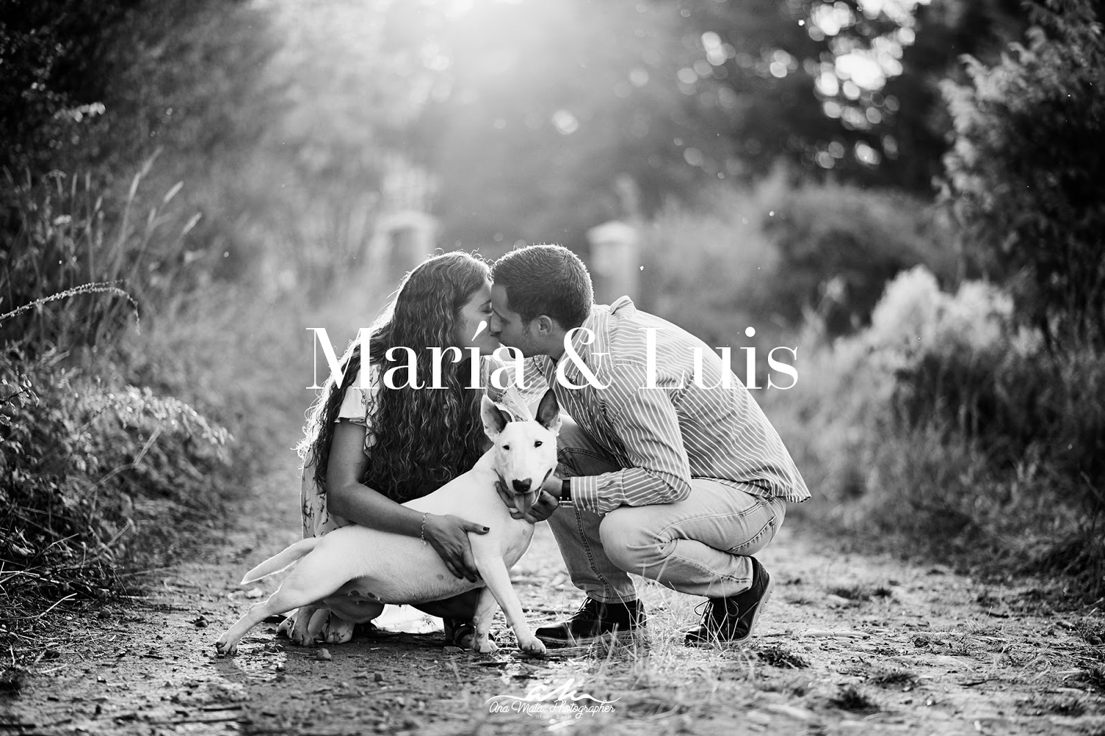 María & Luis. Agosto 2018
