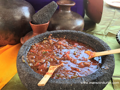 Molcajete a Traditional Mexican Cuisine Kitchen Implement
