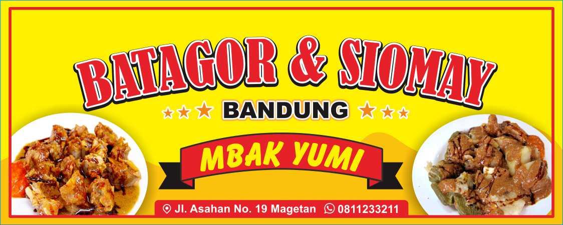 banner batagor siomay
