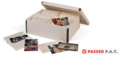 photo storage box - passed P.A.T.
