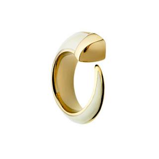 White gold enamel tusk ring shaun leane Jewellery blog