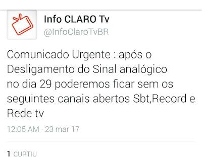 CLARO TV SE PRONUNCIA SOBRE SINAL ANALOGICO D1fbf7c2-f253-4a9b-b68c-dcd8302adaa8