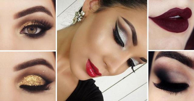 Sylwestrowe makijaże | inspiracje