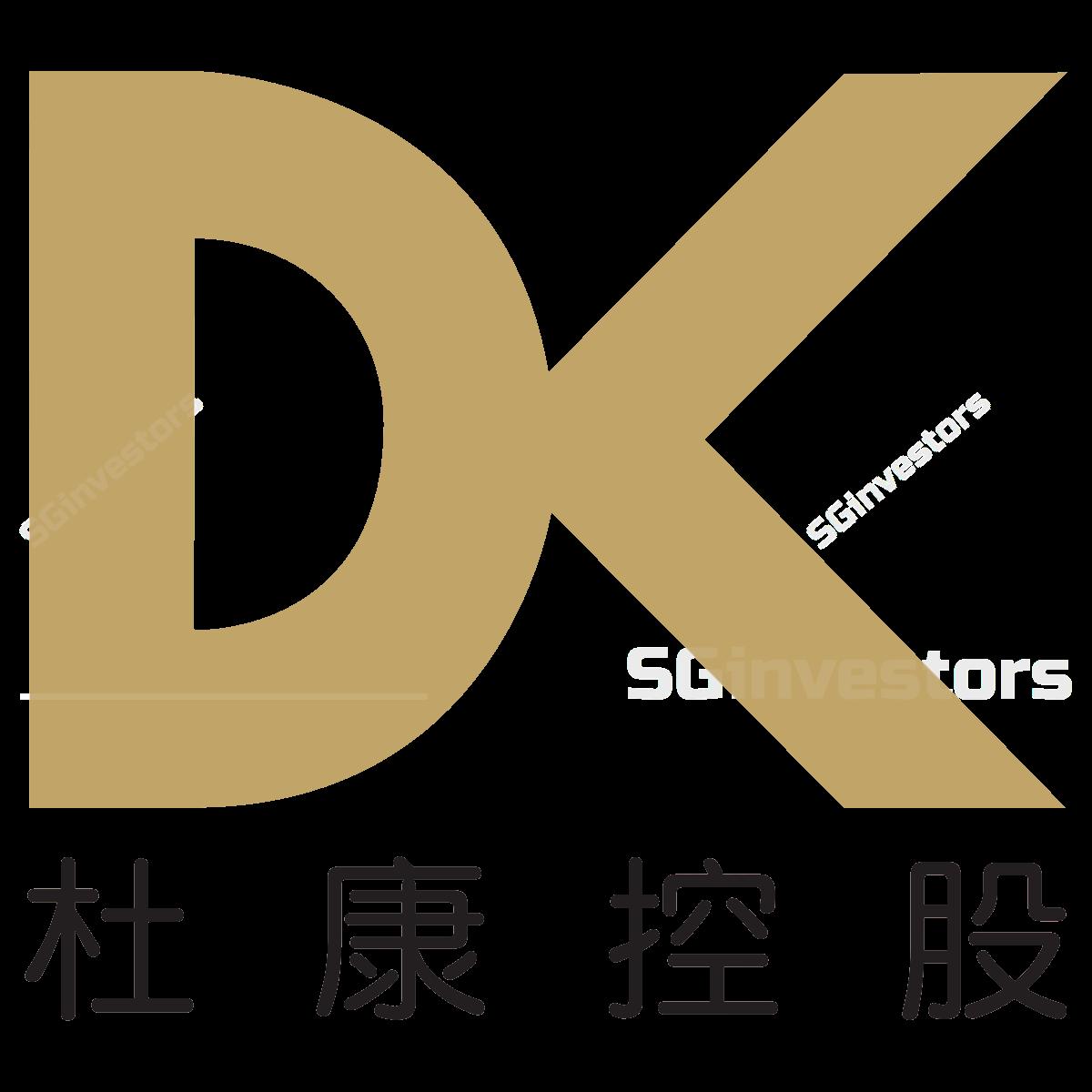 DUKANG DISTILLERS HLDGS LTD (SGX:BKV) @ SGinvestors.io