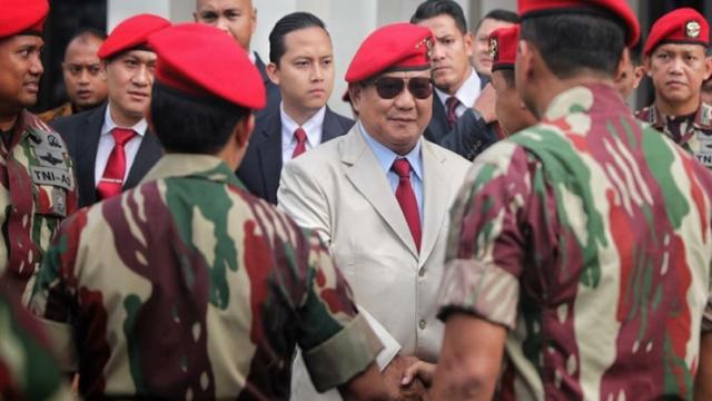 Prabowo Turun Kelas Jika Ambil Kursi Menteri Pertahanan
